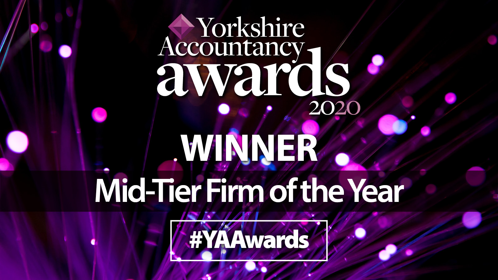 Mid-Tier Firm Of The Year Yorkshire Accountancy Awards 2020