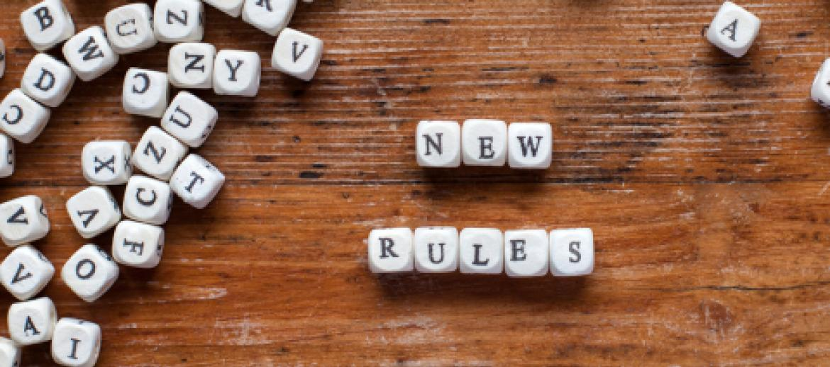 Scrabble Letters Spelling New Rules