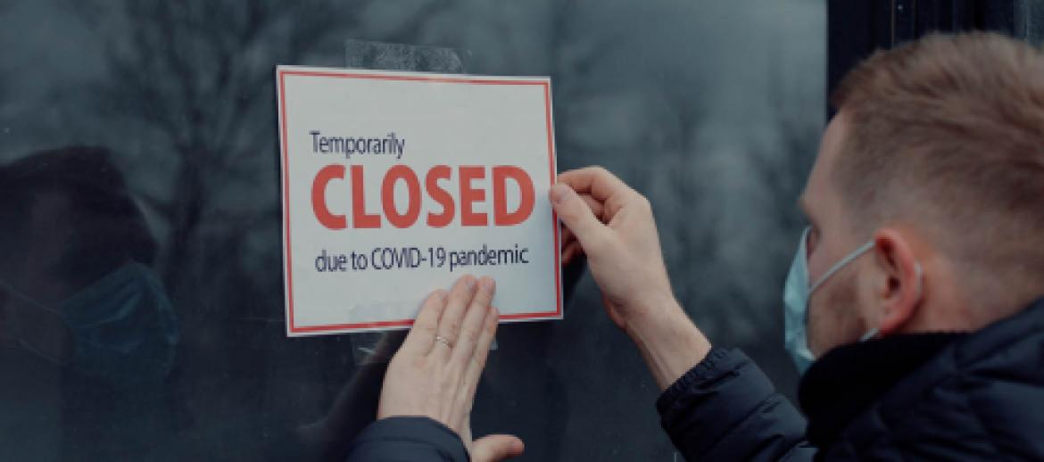 Business closing due to Covid