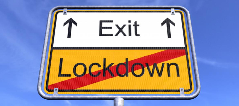 exit lockdown sign