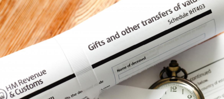 IHT tax declaration to HMRC