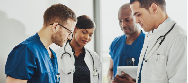 Medical Staff talking