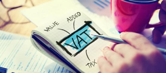 VAT written on pad