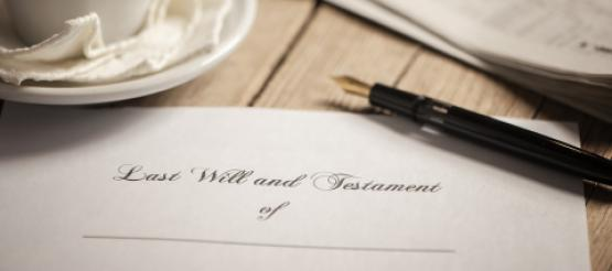 Will and testament documents to sign
