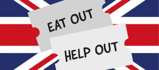 Eat out to help our over UK flag