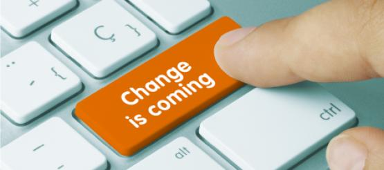 Change is coming on keyboard