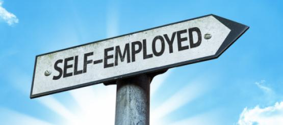 Self Employed Sign