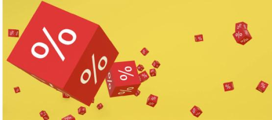 VAT rates % on cubes falling