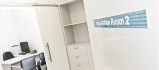 GP Surgery Consolation room