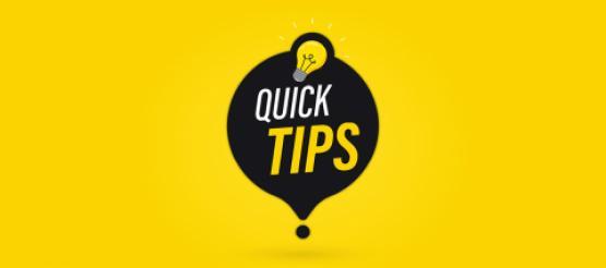 Xero Quick Tips