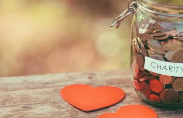 Charity Funding Jar