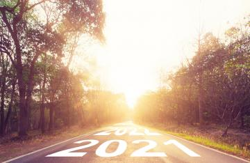 Future Years written on Road