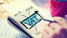 VAT written on pad